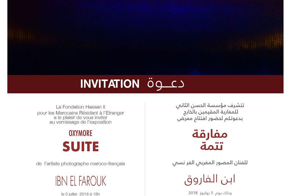 Ibn El Farouk – Oxymore Suite, Espace Rivages