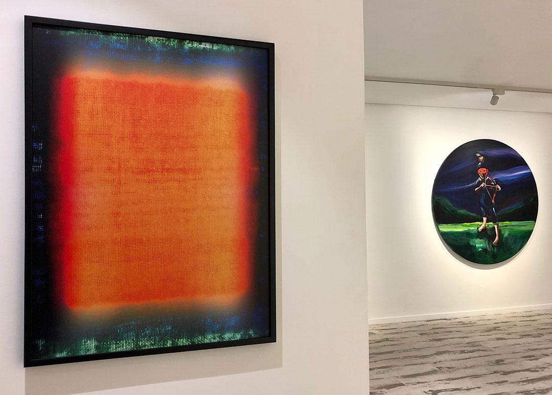 #Groupshow Galerie Shart Ibn El Farouk, Yassine Balbzioui