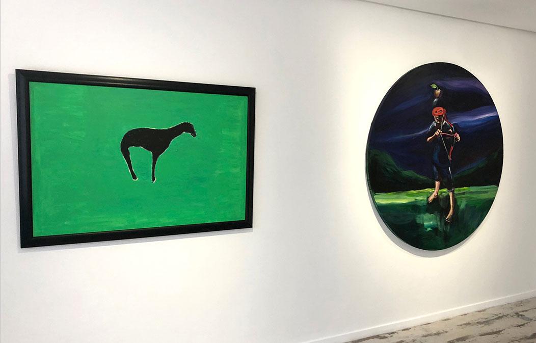 #Groupshow Galerie Shart Selfati, Yassine Balbzioui