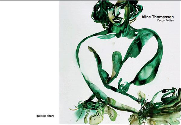 Aline Thomassen Corps fertiles, catalogue Galerie Shart