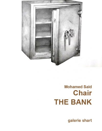 Catalogue The Bank Mohamed Said Chair