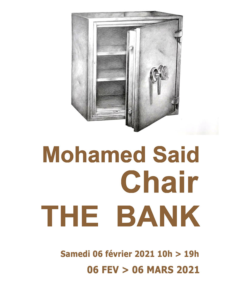 Mohamed Said Chair THE BANK exposition
