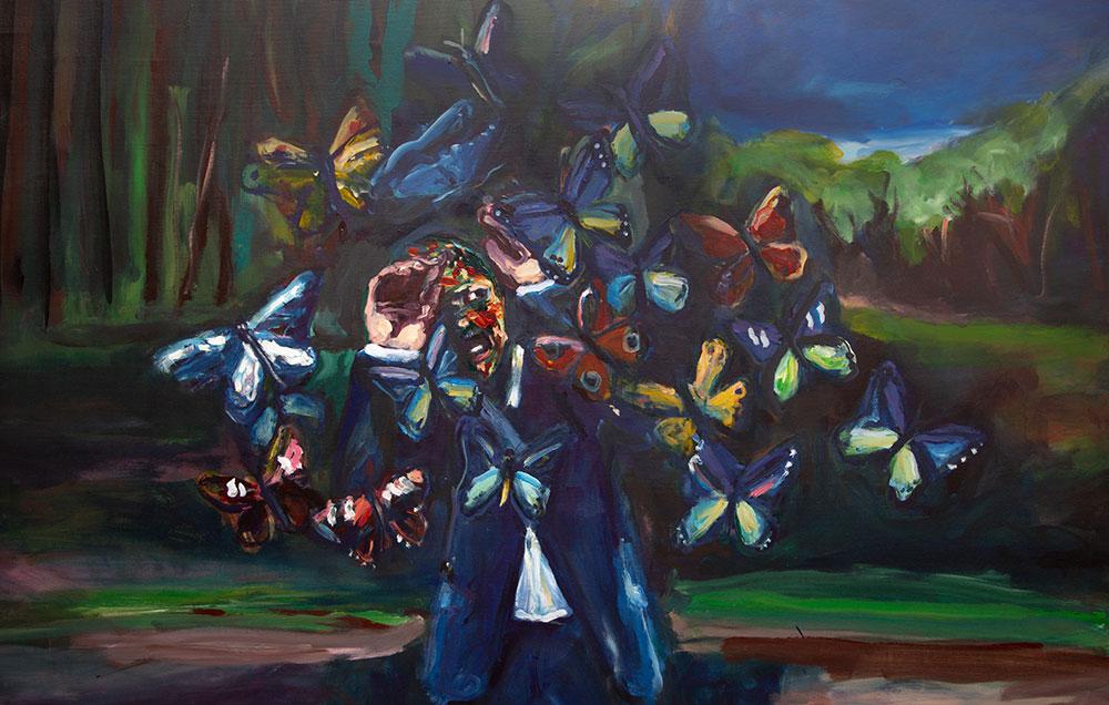 Yassine Balbzioui, Effet Papillon, Galerie Shart